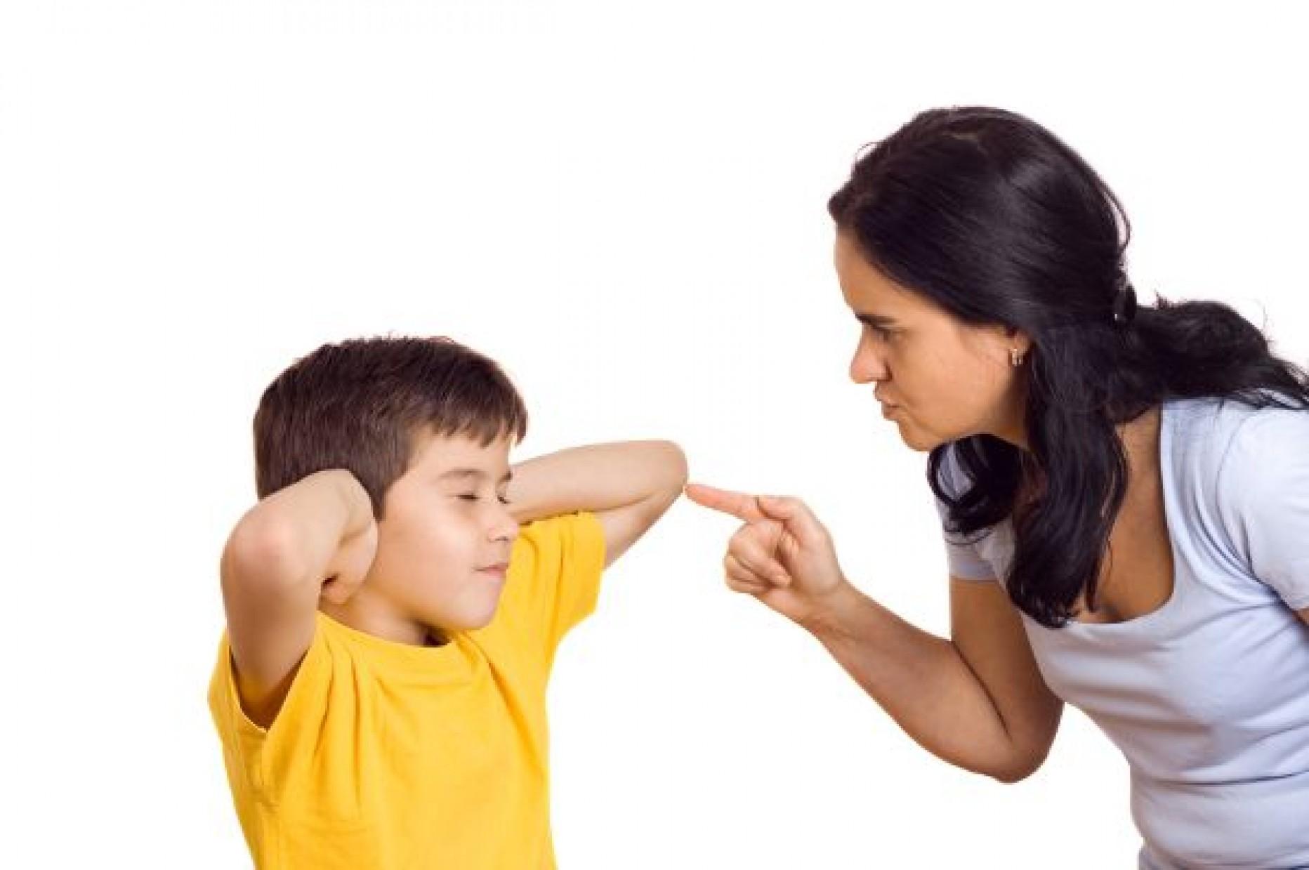 Как сделать что бы не кричать на ребенка