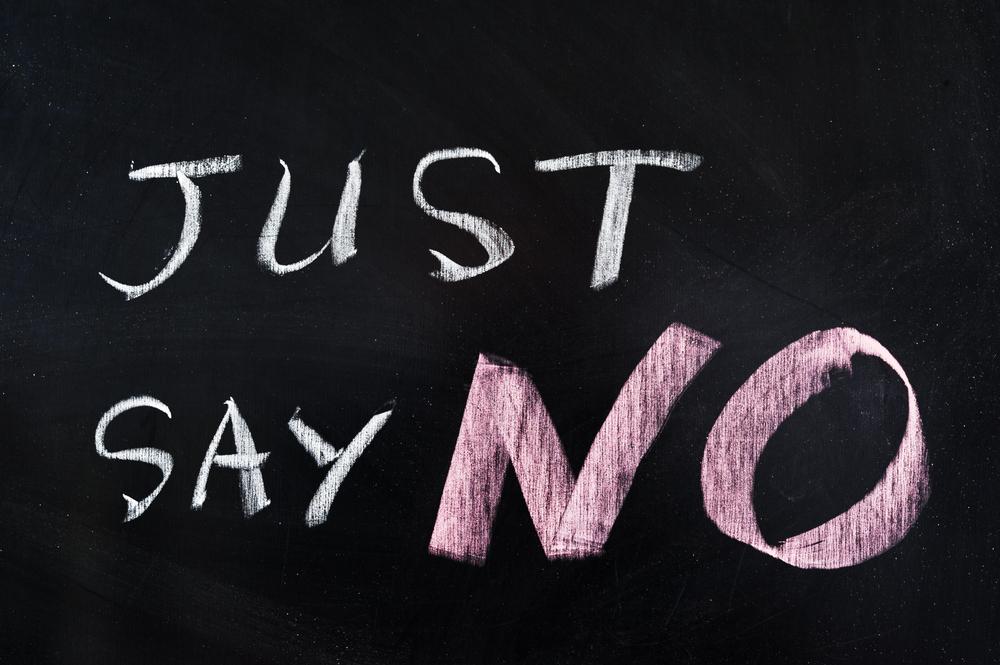 """Μη διστάζεις να λες """"όχι"""". Επιβάλλεται να το κάνεις!"""