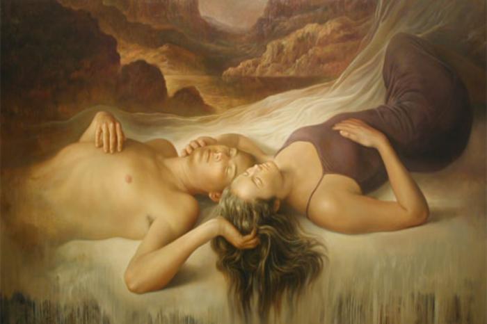 Έρωτα κάνουν οι ψυχές, το «sex» είναι για τις σάρκες.