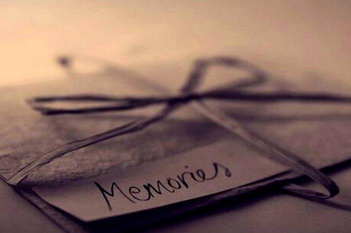 Τις αναμνήσεις δεν πρέπει να τις πετάς ποτέ.