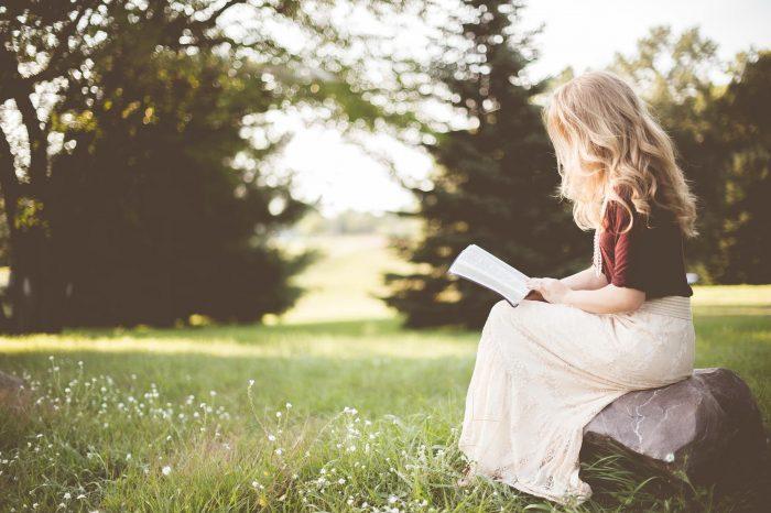 Μέσα στα βιβλία βρήκα κομμάτια του εαυτού μου.